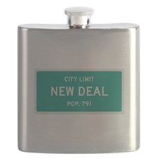 New Deal, Texas City Limits Flask