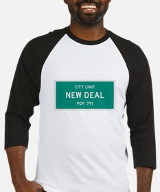 New Deal, Texas City Limits Baseball Jersey