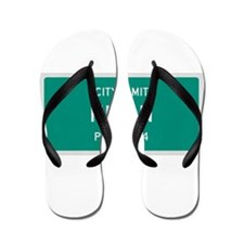 Nixon, Texas City Limits Flip Flops