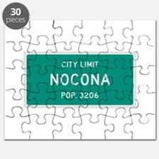 Nocona, Texas City Limits Puzzle