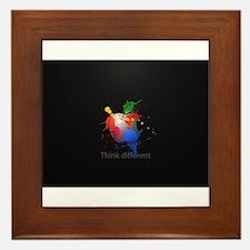 Think Different Framed Tile