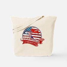 Proud Croatian American Tote Bag