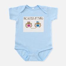 Big Sister Of Twins (boy/girl) Infant Bodysuit