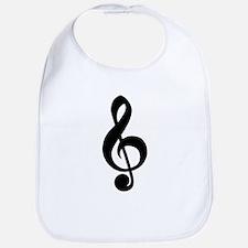 musician,treble clef Bib