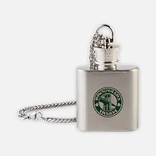 Brooklyn NY Irish Flask Necklace