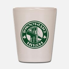 Brooklyn NY Irish Shot Glass