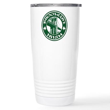 Brooklyn NY Irish Travel Mug
