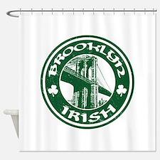 Brooklyn NY Irish Shower Curtain