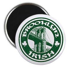 "Brooklyn NY Irish 2.25"" Magnet (100 pack)"