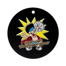 Captain Thunderbolt! Ornament (Round)