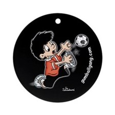 Soccer Ornament (Round)