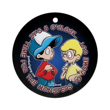 Monster Time Ornament (Round)