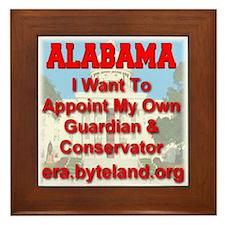 Mom's Law Alabama Framed Tile
