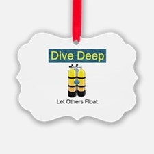 TOP Scuba Diving Ornament