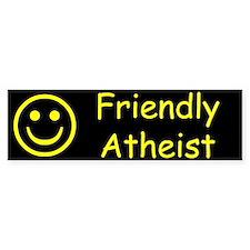 Friendly Atheist Bumper Sticker