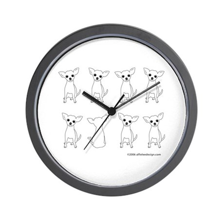 One of These Chihuahuas! Wall Clock
