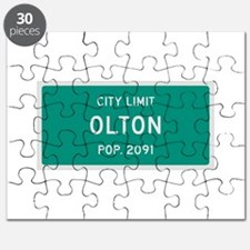 Olton, Texas City Limits Puzzle