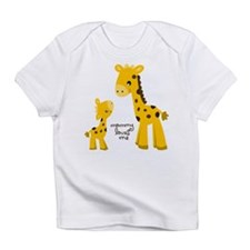 Mother and child Giraffe Infant T-Shirt