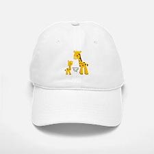 Mother and child Giraffe Baseball Baseball Cap