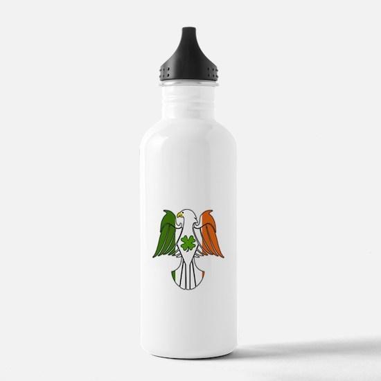 Irish American Eagle (sc) Water Bottle