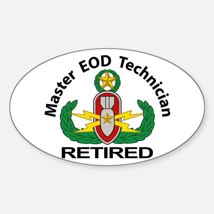 Retired Master EOD Decal