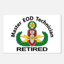 Retired Master EOD Postcards (Package of 8)