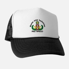 Retired Master EOD Trucker Hat