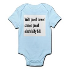 Electric Bill Body Suit