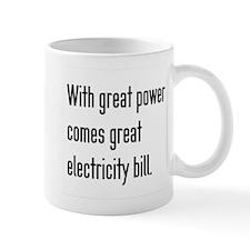 Electric Bill Small Mug