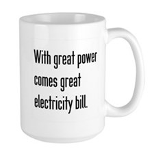Electric Bill Mug