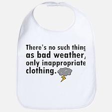 'Bad Weather' Bib
