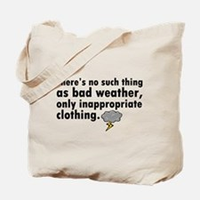 'Bad Weather' Tote Bag