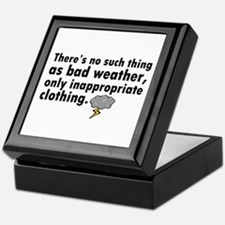 'Bad Weather' Keepsake Box