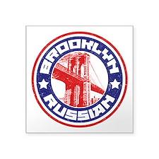 Brooklyn New York Russian Sticker