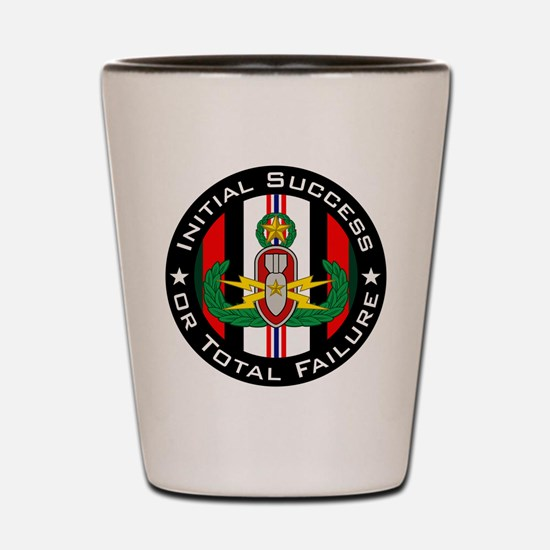 Master EOD in color OEF ISoTF Shot Glass