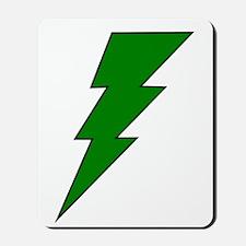 The Green Lightning Shop Mousepad