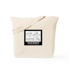 Important IPhone Tote Bag