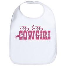 Itty Bitty Cowgirl Bib
