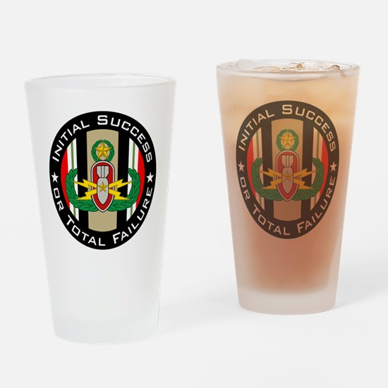 EOD Master in color OIF ISoTF Drinking Glass