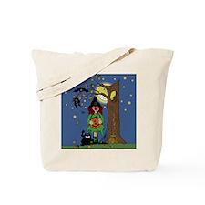 Halloween Night Trick or Treat Tote Bag