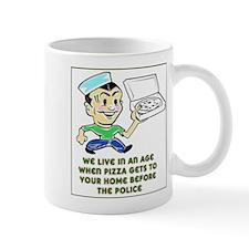 Pizza Police Mug
