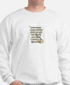Dim the Lights/ Drink Champagne Sweatshirt