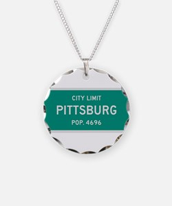 Pittsburg, Texas City Limits Necklace