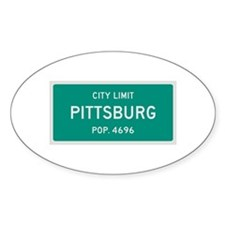 Pittsburg, Texas City Limits Decal