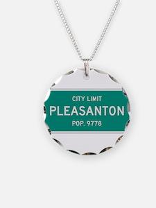 Pleasanton, Texas City Limits Necklace
