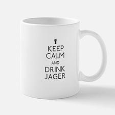 KEEP CALM AND DRINK JAGER Mug