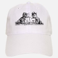 Cigar Smoking Bulldogs Baseball Baseball Cap