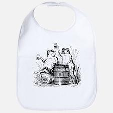 Beer Drinking Frogs Bib