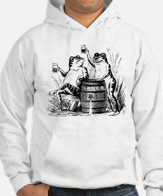 Beer Drinking Frogs Jumper Hoody