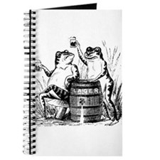 Beer Drinking Frogs Journal